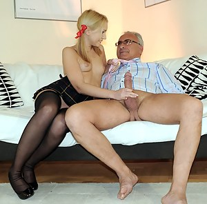 Hot Old Man and Teen Porn Pictures
